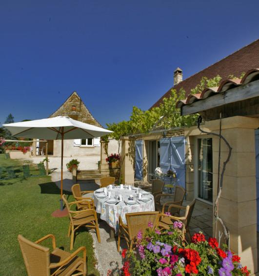 un village de gîtes en Dordogne