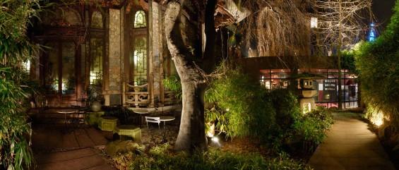 Pagode-jardin 2 nuit