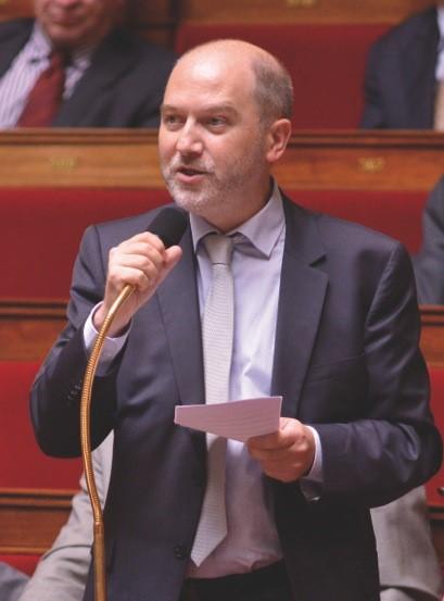 Denis Baupin, coprésident du Club des parlementaires pour le vélo