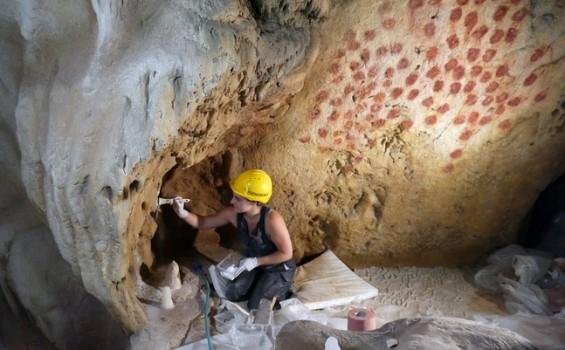 Sculpteurs grotte Chauvet