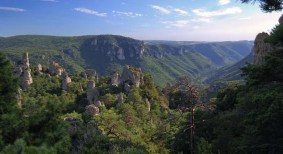 les paysages grandioses du Sud Aveyron