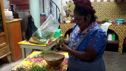 la gastronomie traditionnelle, vecteur de devellopement d'un tourisme durable et équitable (ici au Mexique)