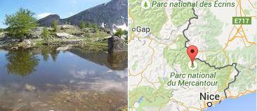 Parc national du Mercantour photo + plan