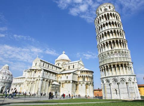 Italie, Toscane, la tour de Pise et la Cathedrale Santa Maria Assunta