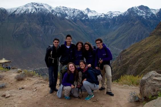 l'équipe 2015 des étudiants de l'ECSP Paris investis dans la pérennité du projet