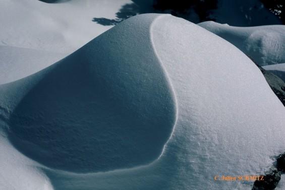 ambiance zen dans la neige avec Montagnarbre