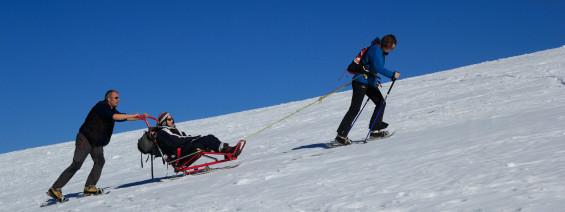 Du ski adapté, accompagné, une riche idée