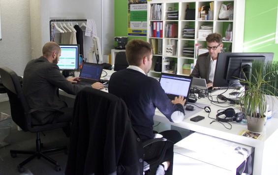 BookBedder team at work 2