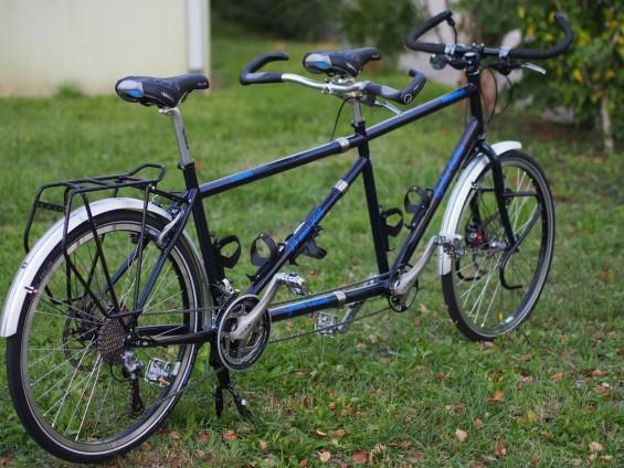 le tandem un exemple des nombreux vélos fabriqués par Cattin à Poisat