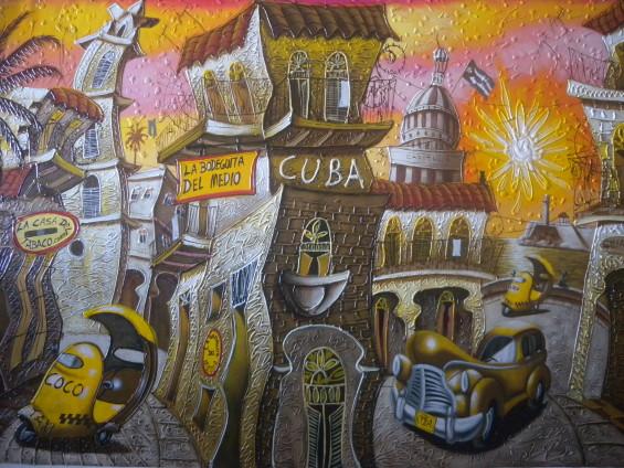 Peintures Cuba