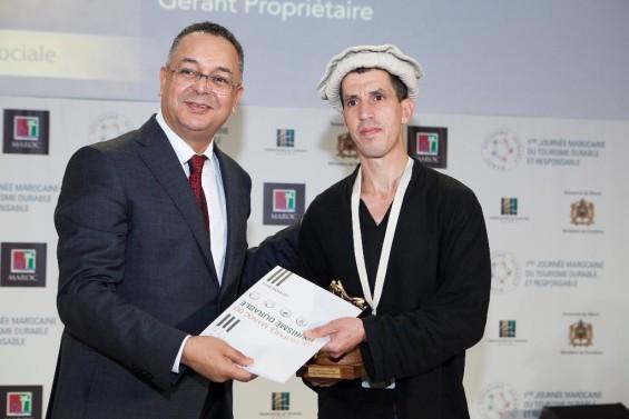Saïd  Marghadi - Lauréat catégorie Equité et responsabilité sociale