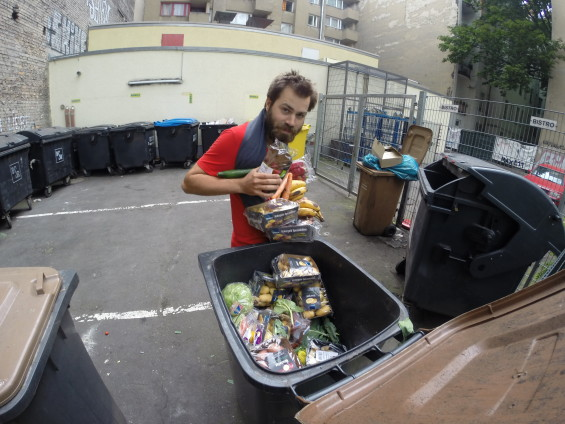 Baptiste Dubanchet 3000km à vélo sans acheter de nourriture