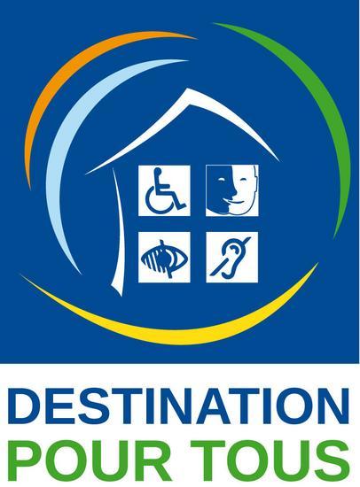 Destination Pour Tous logo Tourisme et handicap