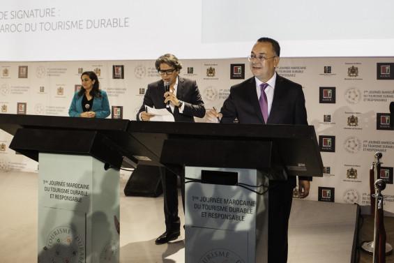 Signature de la charte marocaine du tourisme durable