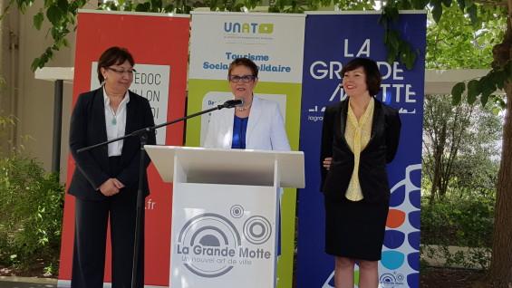 3 ministres réunies aux rencontres de l'UNAT 2016