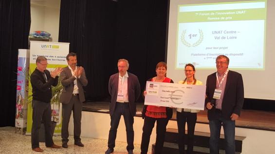 L'UNAT Centre Val de Loire lauréat des