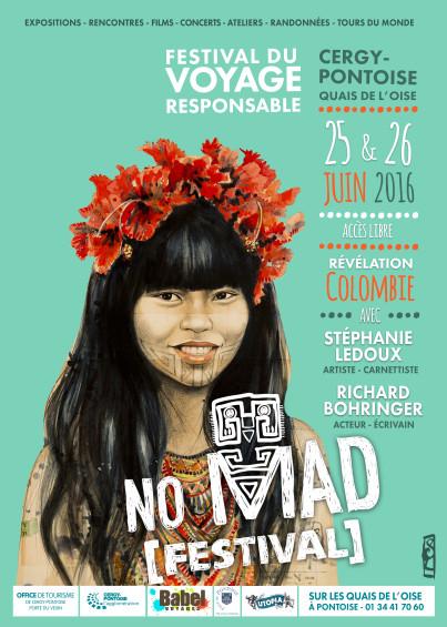 No Mad festival : le rendez vous voyage responsable en Ile de France