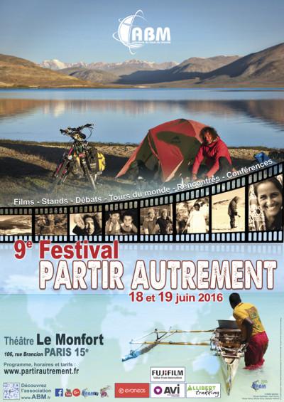 9eme édition du festival Partir autrement les 18 et 19 juin à Paris