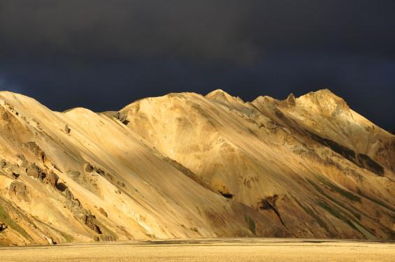 Terre bénie l'Islande revêt des trésors naturels