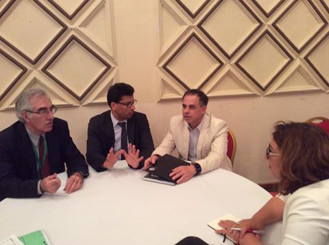 Table ronde au Maroc