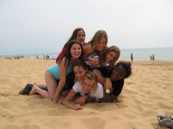 Les copains, l'amitié, ici à Jard sur mer en Vendée