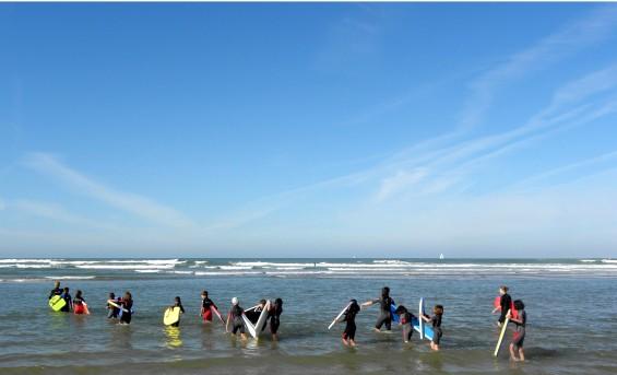 Découverte sportive de l'océan à Jard sur mer