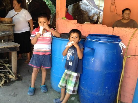 Les enfants de San Bartolo