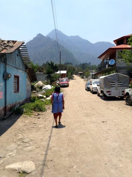 Un village au bout de la route de Coscomatepec, région de Veracruz.