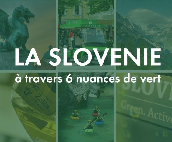 6 nuances de vert en Slovénie