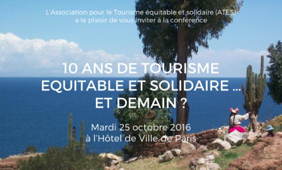 10 ans après quel état et quelles perspectives pour le tourisme équitable et solidaire?