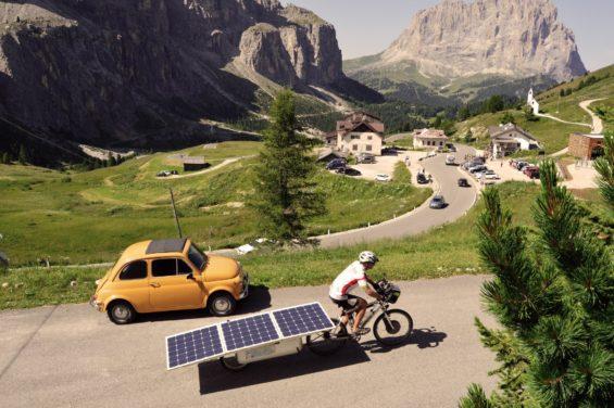 Le VAE solaire permet une approche démocratique du vélo en montagne