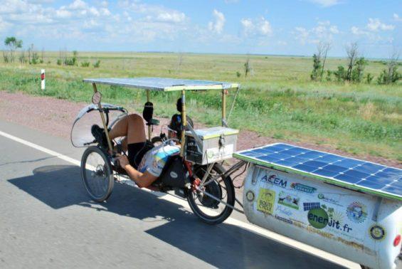 Sur le sun trip liberté totale sur le choix de son véhicule : pourvu que le solaire y régne en maitre