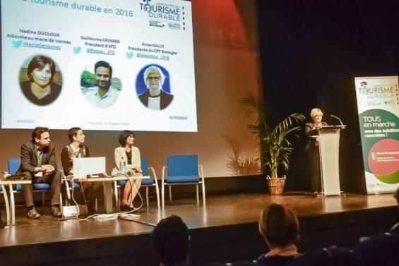 Plénière des universités du tourisme durable à Vannes