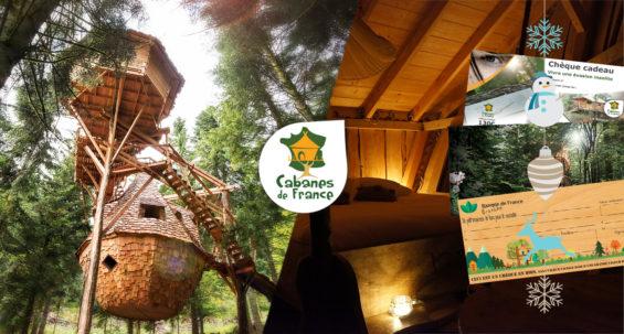 Coffrets cadeaux Cabanes de France