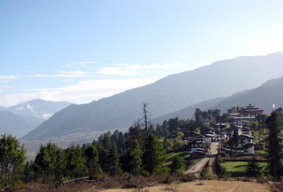 Village de Gangtey