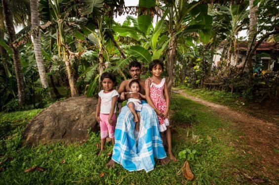 Famille Sri Lanka
