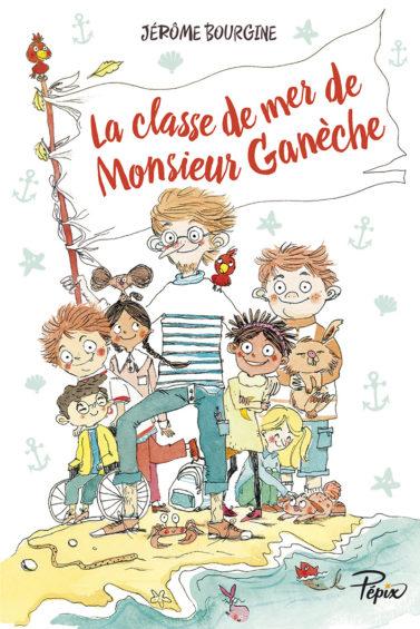 Monsieur Ganèche aux éditions Sarbacane