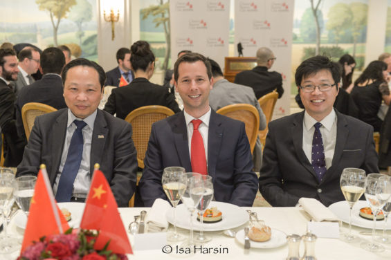 Henri Giscard dEstaing at Chinese Business Club