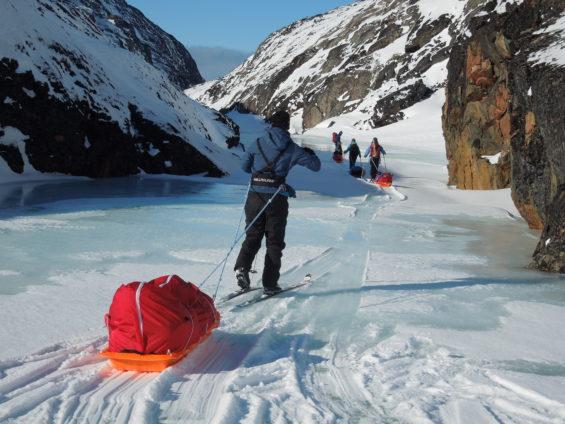 Raid à Ski au Spitzberg