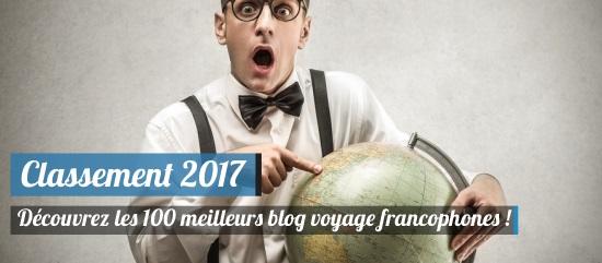 classement 2017 des blogs de voyage les plus populaires des blogueurs engag s pour un tourisme. Black Bedroom Furniture Sets. Home Design Ideas