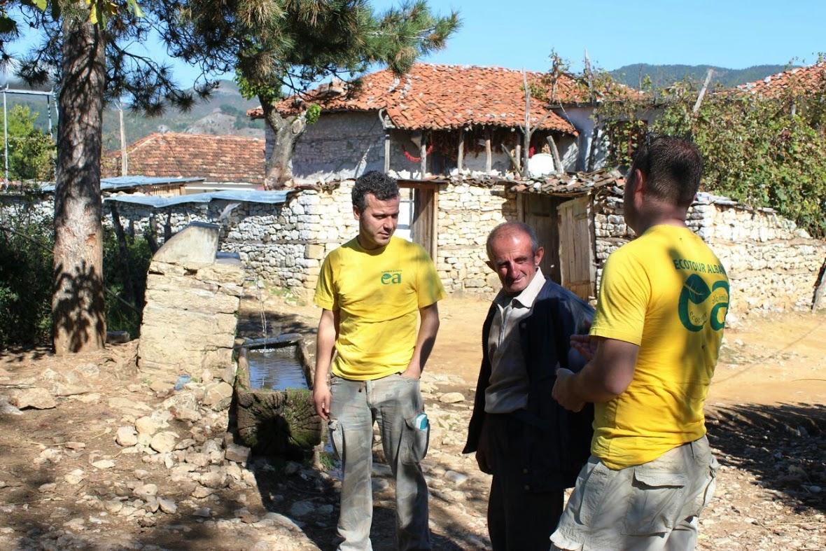 Village d'Albanie