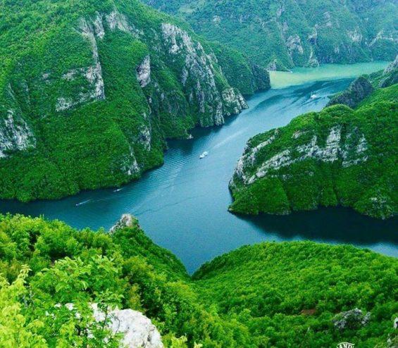 Lac Albanie
