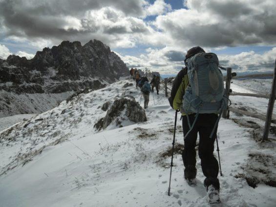 Randonnée à ski
