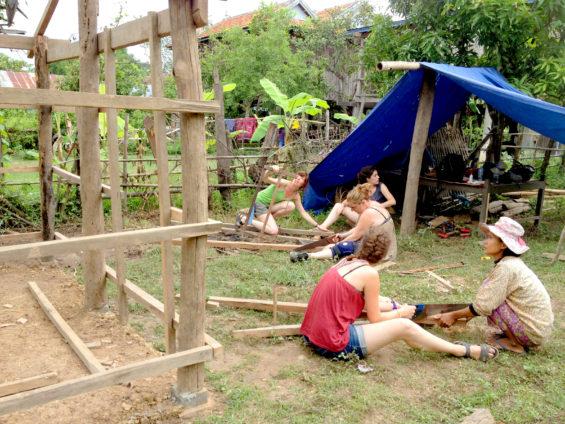 Chatnier au Cambodge