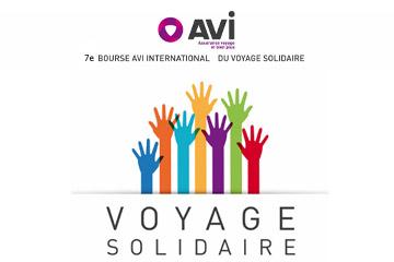 logo avi 7eme bourse du voyage solidaire