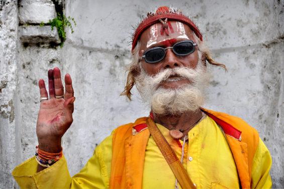 Un sadhu, un saint homme hindou - Wikimedia commons