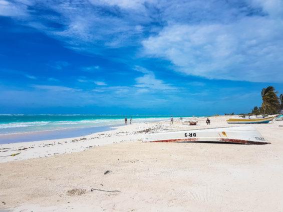 Plage de Tulum dans le Yucatan ©MD