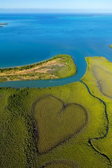 Coeur de Voh, Voyage en Nouvelle calédonie