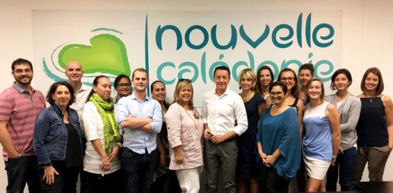 l'équipe Nouvelle Calédonie tourisme