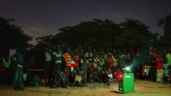 Projection Cinécyclo Sénégal